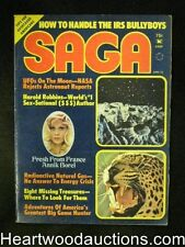 """Saga"" April 1974, Harold Robbins, Annik Borel - High Grade"
