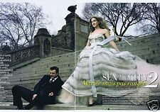 Coupure de presse Clipping 2010 Carrie Bradshaw & Chris Noth (6 pages)