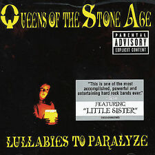 Lullabies To Paralyze Queens Of the Stone CD Josh Homme Lanegan Billy Gibbons