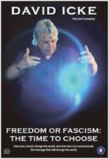 David Icke • Freedom or Fascism - Time to Choose • ON PLAIN DVD-R