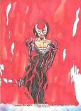 Cryptozoic DC Women Of Legend Color Sketch card Katana Babisu RARE! MINT!