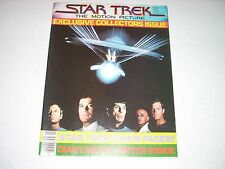 STAR TREK the Motion Picture Poster Book 1979 LARGE POSTER  fold out articles