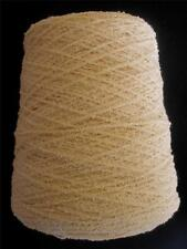 ORGANIC COTTON BOUCLE 1090 YPP FINE SPORT WT CONE YARN 1 LB NATURAL (C54)