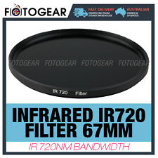 Infrared Filter 67mm IR720 R72 RM90 720nm Canon Nikon Sony Camera Lens DSLR New