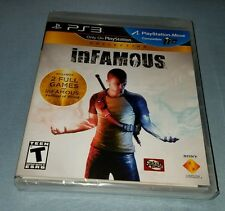 INFAMOUS COLLECTION SONY PLAYSTATION PS3 2 GAMES IN 1 FACTORY SEALED BRAND NEW