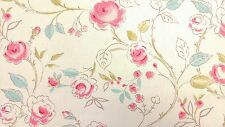 Clarke and Clarke Milly Chintz Floral Designer Curtain Upholstery Craft Fabric