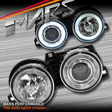 Crystal CCFL Angel-Eyes Projector Head Lights BMW E30 318i 318is 320i 323i 325i