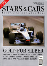 Stars & Cars 1997 German text - Mark Blundell,  Gentlemen, Cart Your Engines