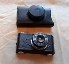 VTG circa 1930th Falcon Miniature Camera with Minivar 50mm Lens & original case