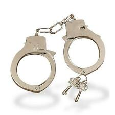 Love Cuffs Metal Handcuffs Fancy Dress Police Costume Sex Cuffs Kinky Toys