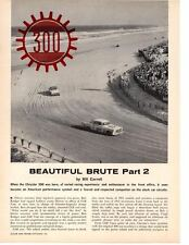 1955-1956 CHRYSLER 300 ~ ORIGINAL 3-PAGE ARTICLE / AD