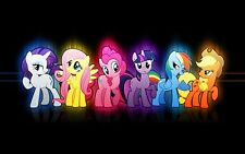 MY LITTLE PONY  VINYL WALL STICKER WALL DECALS