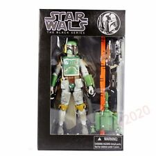 "Action Figure Boba Fett #06 Star Wars The Black Series 6"" With Box"