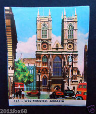 figurines cromos card picture cards figurine europa 134 imperia 1965 westminster