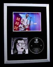 COURTEENERS+SIGNED+FRAMED+ANNA+MAPPING+JUDE+LOVE=100% GENUINE+FAST GLOBAL SHIP