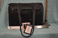 """NEW BUXTON Business PORTFOLIO Brown Fits 15"""" Laptop BAG Professional NEW YORKER"""