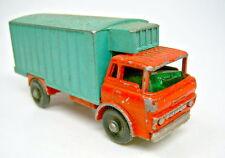 Matchbox RW 44C Refrigerator Truck grün/rot bespielt