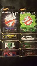 8 HOT WHEELS GHOSTBUSTERS COMPLETE LOT SET OF 8 2017 SAVE 5% WORLDWIDE FAST SHIP
