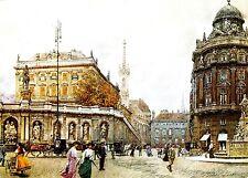 Wien , Albertina , Ansichtskarte ,  gelaufen