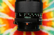 Canon FD 135mm F2.8 Manual Focus Lens!  BEAUTIFUL