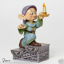 4043642 Dopey w/Light Up Candle Stick Figurine Disney Traditions Jim Shore Dwarf