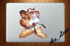 Macbook Air Pro Vinyl Skin Sticker Decal - Street Fighter Ryu Hadouken #CMAC035