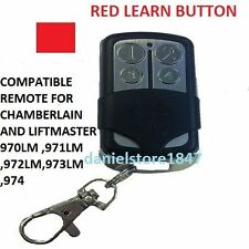 973LM Chamberlain LiftMaster Garage Door Opener Mini Remote Control 973LM 390MHZ