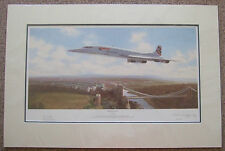 Adrian Rigby, Final Flight - Signed Limited Edition Plane Concorde Print