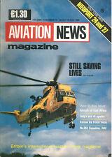 AVIATION NEWS V17 N12 RAF RN SAR / ITALIAN 53 STORMO / NIEUPORT 24 & 27 / RoKAF