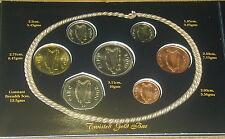 IRELAND  OFFICIAL  MILLENNIUM  COIN SET 2000. UNC. SCARCE SET