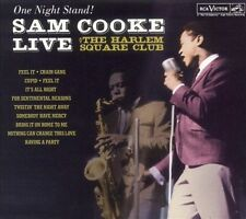 One Night Stand! Sam Cooke Live at the Harlem Square Club CD RCA/Legacy RARE