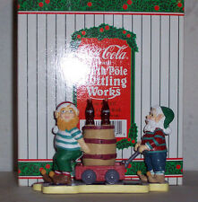 Coke Coca Cola North Pole Bottling Works All In A Day's Work  MIB NRFB