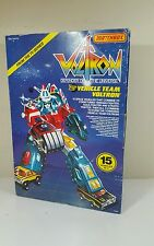 Matchbox Voltron 1 Vehicle Team / Dairugger XV Deluxe Warrior Set With Box 1984