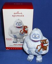 Hallmark Ornament Misfit Friends 2015 Rudolph the Red Nosed Reindeer & Bumble