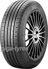 2x SUMMER TYRE Continental EcoContact 5 185/70 R14 88T BSW