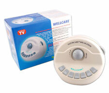Sound relaxation machine by wellcare - naturcare white noise tinnitus aids sleep