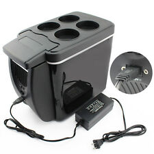 Portable Car Cooler Warmer Truck Electric Fridge 12V/110V Travel Refrigerator
