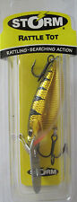 "STORM  Rattle Tot - 3/8 oz. - 2-1/4"" - Chrome Yellow Perch"
