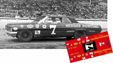 CD_2970 #7 A.J. Foyt  1962 Hedges Pontiac   1:64 Scale Decals  ~NEW~