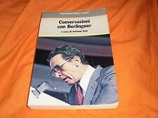 conversazioni con berlinguer a cura di f. tatò 1984
