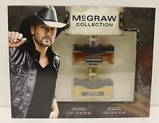 MC GRAW By Tim McGraw Gift Set Collecttion Men EDT  Perfume Fragrance NIB