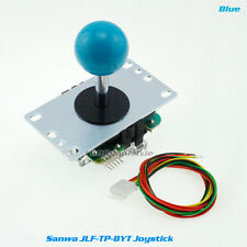 100% Genuine Original Sanwa JLF-TP-8YT Joystick For Aracde DIY Parts MAME #Blue