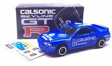 MADE IN JAPAN TOMY TOMICA CALSONIC NISSAN SKYLINE GTR GT-R R32 1/58 DIECAST CAR