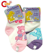 Care Bears Socks Grumpy and Love a Lot Bear Baby 2 Pair Set 6-12months