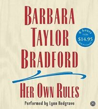 BOOK/AUDIOBOOK CD Barbara Taylor Bradford Fiction Novel HER OWN RULES