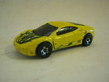 Hot Wheels Yellow Ferrari 360 Modina, dated 1999, Good Cond (EB8-16)