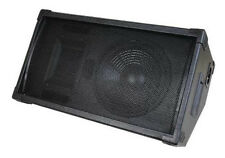 """NEW 10"""" PA Floor monitor Stage Speaker.Live Band Sound.Pro Audio.ten inch 8 ohm."""