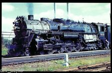 Chicago Burlington & Quincy 4-8-4 Northern steam locomotive railroad postcard