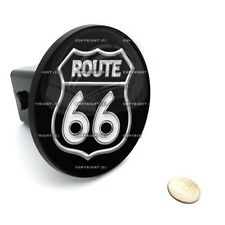 """2"""" Tow Hitch Receiver Cover Insert Plug for Most Truck & SUV - ROUTE 66 SIGN 2"""