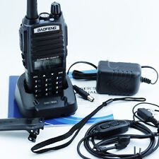 BAOFENG UV-82 Dual Band UHF/VHF137-174/400-520MHz 2-Way Radio+Double PTT Headset